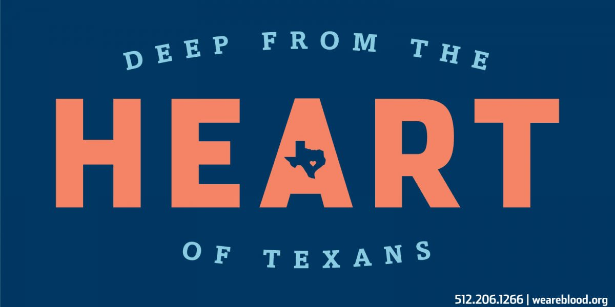 Deep from the heart of Texans.