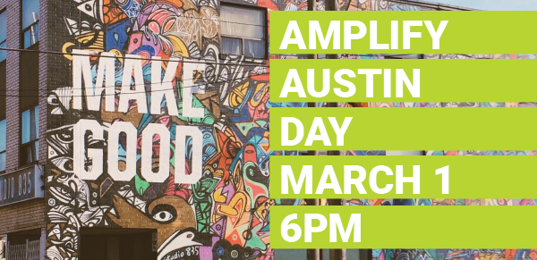 Do you want to help us #AmplifyATX?