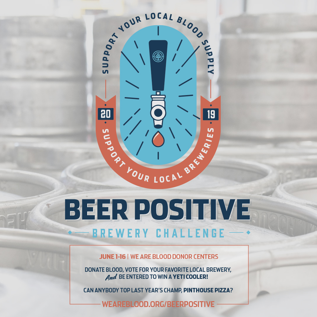 Beer Positive is back! Vote for your favorite local beer in the 2019 Brewery Challenge!