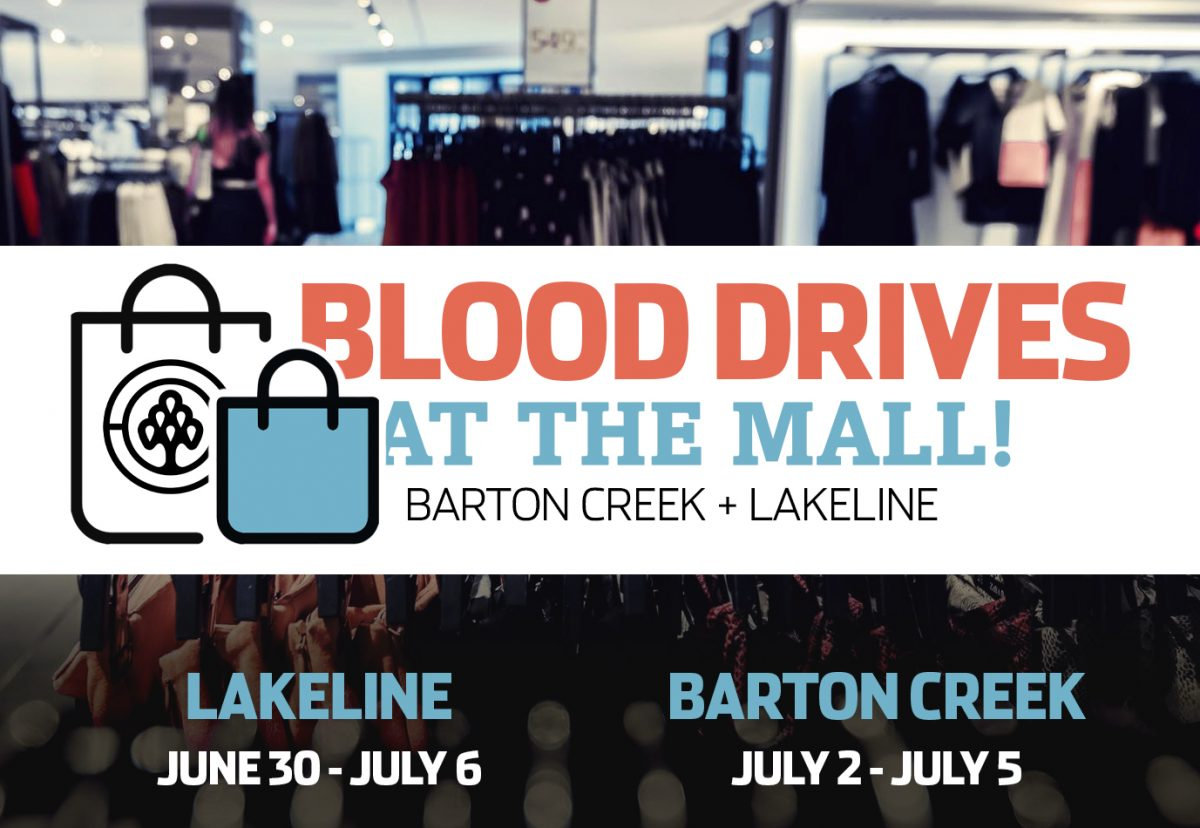 Mall drives @ Barton Creek and Lakeline!