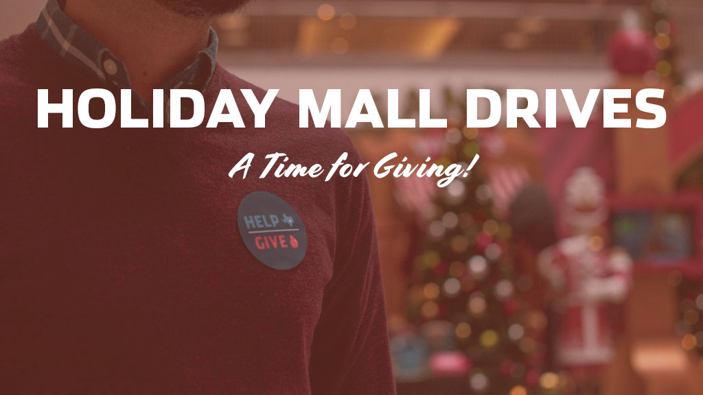 Holiday Mall Drives – 2019 / 2020 Schedule (Nov-Jan)
