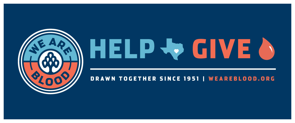 Blood Donation Safe & Critical as Central Texans Respond to Coronavirus. Donate at We Are Blood today!