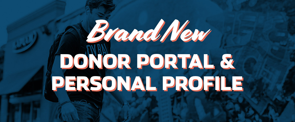 Brand New Donor Portal & Personal Profile for We Are Blood Donors