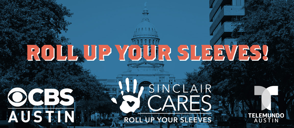 "Sinclair Cares ""Roll Up Your Sleeve"" Campaign"
